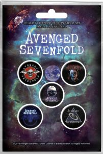 Avenged Sevenfold The Stage  5 x 25mm  Badge Pack (rz)